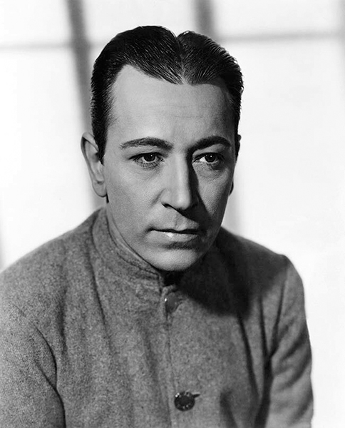 """""""I don't mind playing that sort of part, but I won't ever again be an unfair killer and a louse and a heel. I've done too many of those."""" -- George Raft. Photo: """"Each Dawn I Die"""" (1939). Bizarre Los Angeles."""