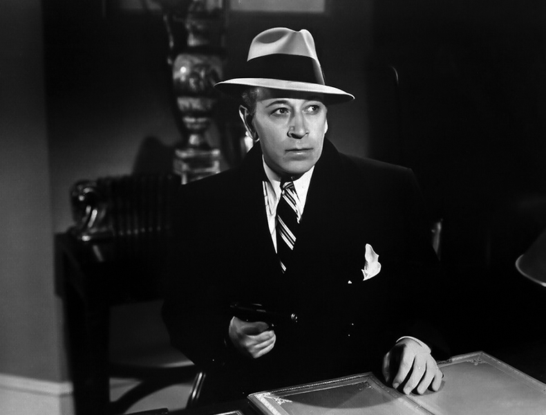 "George Raft in ""Red Light"" (1949). Bizarre Los Angeles"