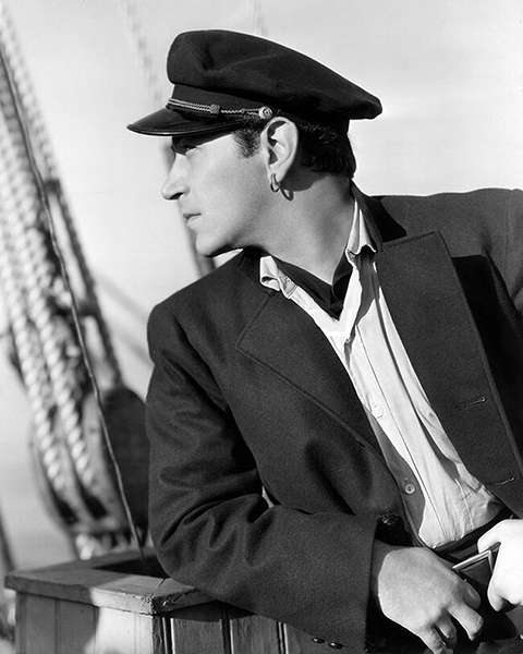 """""""Souls was a helluva good adventure movie about the slavery days. My hair was marceled and I wore a ring in my ear - like some sailors did in those days."""" -- George Raft (Bizarre Los Angeles)"""