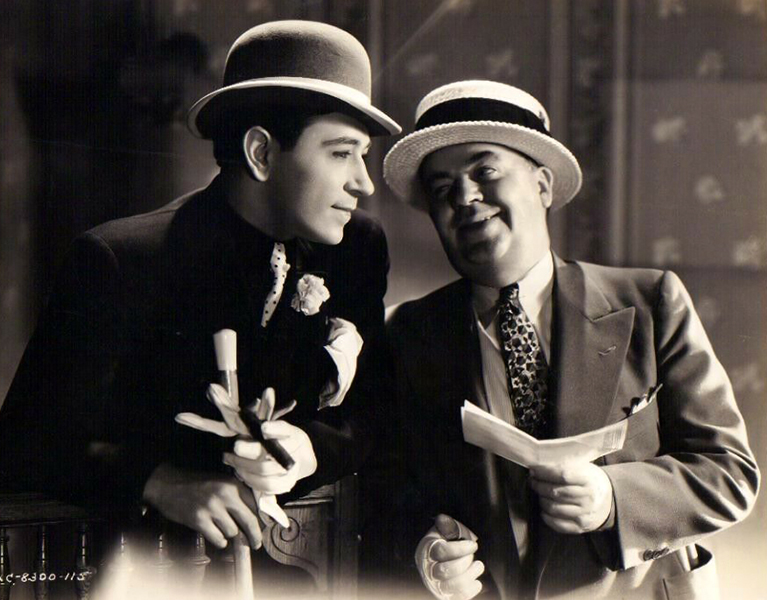 """George Raft in """"The Bowery"""" (1933)"""