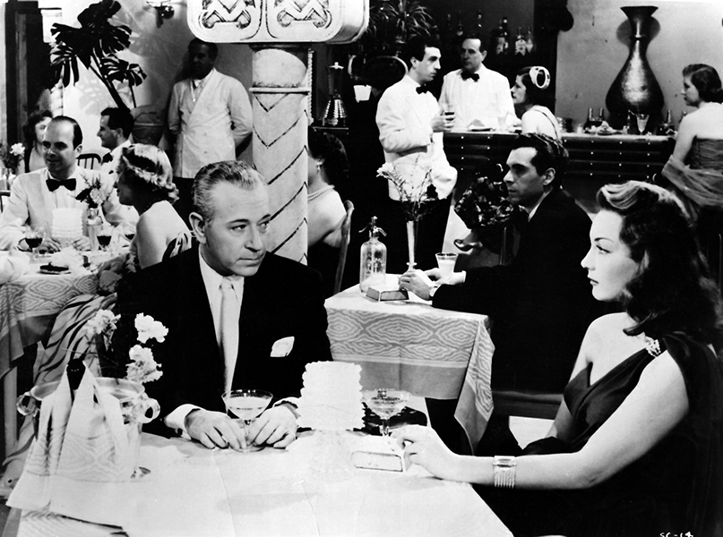 """""""I dunno. The thing's disgraceful. I doubt if they ever get it put together. Making pictures in Europe for an independent is definitely not like working in the United States."""" -- George Raft (Bizarre Los Angeles)"""