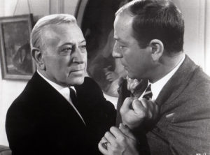 """George Raft in """"The Upper Hand"""" (1965). Bizarre Los Angeles"""
