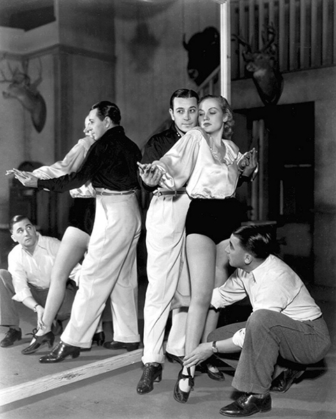 George raft Carole Lombard Dance Lesson