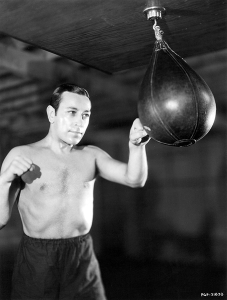 """I had no education. I fought in the streets so I became a fighter. I played baseball, so I became a ballplayer. I saw some people dancing in a nightclub, so I became a dancer."" -- George Raft (Bizarre Los Angeles)"