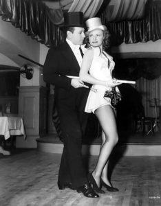 "George Raft and Janet Blair in ""Broadway"" (1942)"