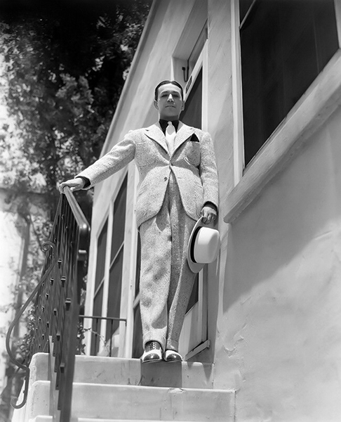 """""""I can't go on the screen wearing a $40 suit. I have to be wearing the latest and the best, and that costs money."""" -- George Raft in 1933 (Bizarre Los Angeles)"""