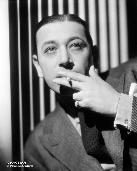 """I'm not afraid to flop at anything and fame doesn't scare me, either."" -- George Raft (Bizarre Los Angeles)"