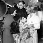 "Gloria Swanson, George Raft and Carole Lombard on the set of ""Bolero"" (1934) Bizarre Los Angeles"