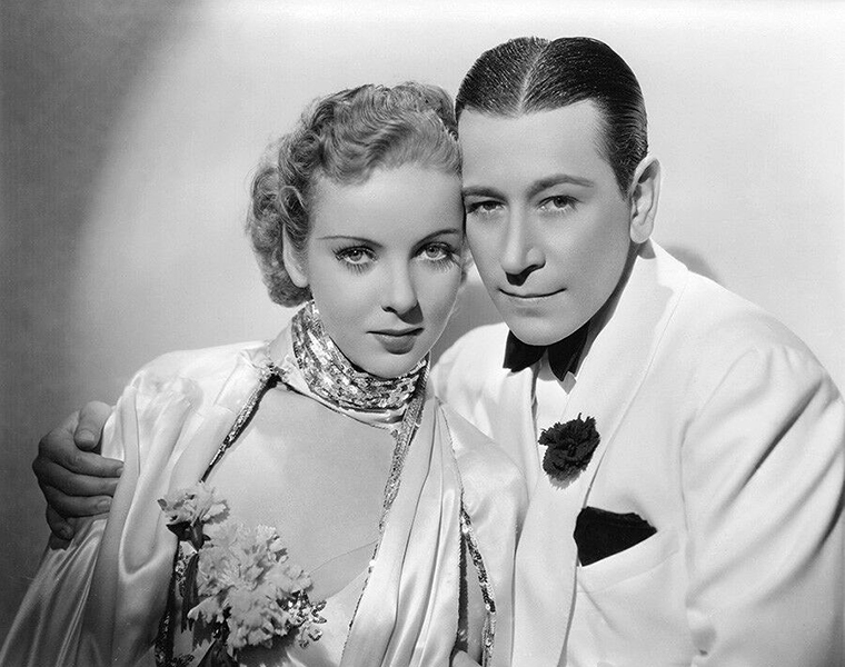 """Ida Lupino and George Raft in """"Yours for the Asking"""" (1936). Bizarre Los Angeles"""