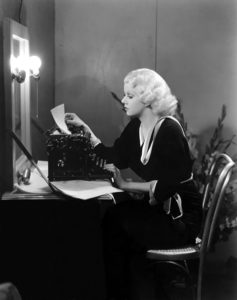 Jean Harlow, the writer (Bizarre Los Angeles)
