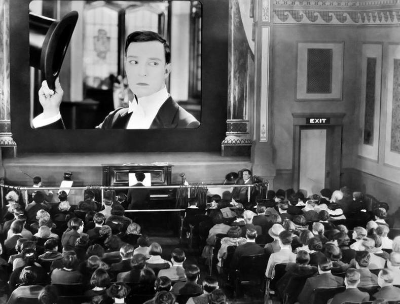 Buster Keaton Sherlock Bill Jr
