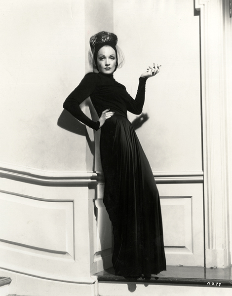 """Irene does my costumes - oh, yes, I make suggestions, but they're really hers."" -- Marlene Dietrich (Bizarre Los Angeles)"