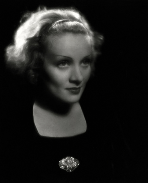 """I happen to have what it takes to be a stage person and, urged by necessity, I remained in the theatre until that lucky-starred evening when Josef von Sternberg chanced to see me in a Max Reinhardt play and brought me back into pictures."" -- Marlene Dietrich (Bizarre Los Angeles)"