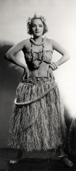 Marlene Dietrich Hawaiian