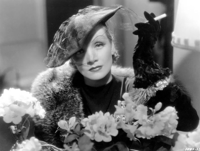 """I am not a myth."" -- Marlene Dietrich (Bizarre Los Angeles)"