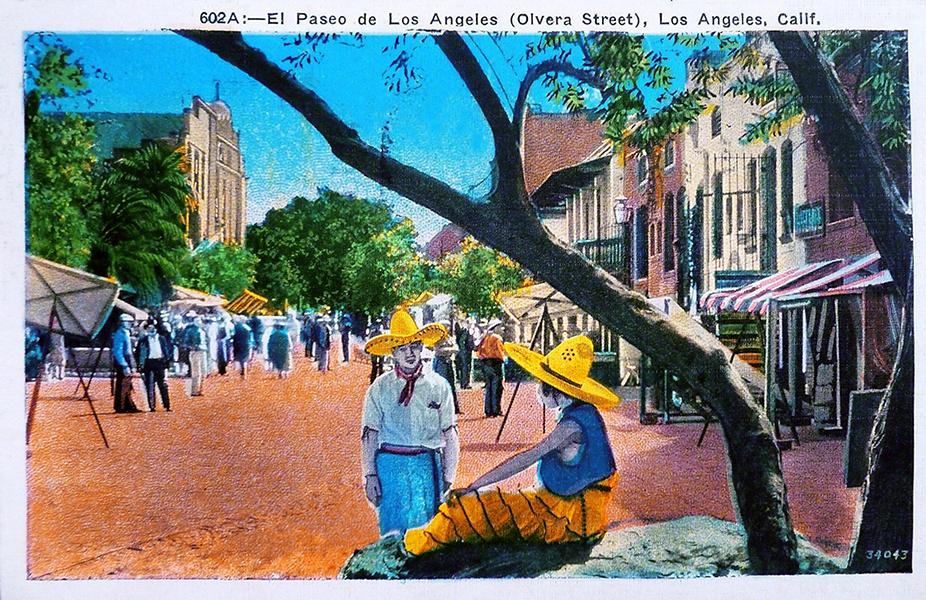 Olvera Street 1936