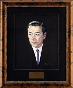 George Raft painting