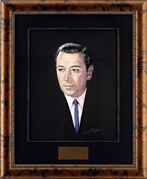 George Raft painting
