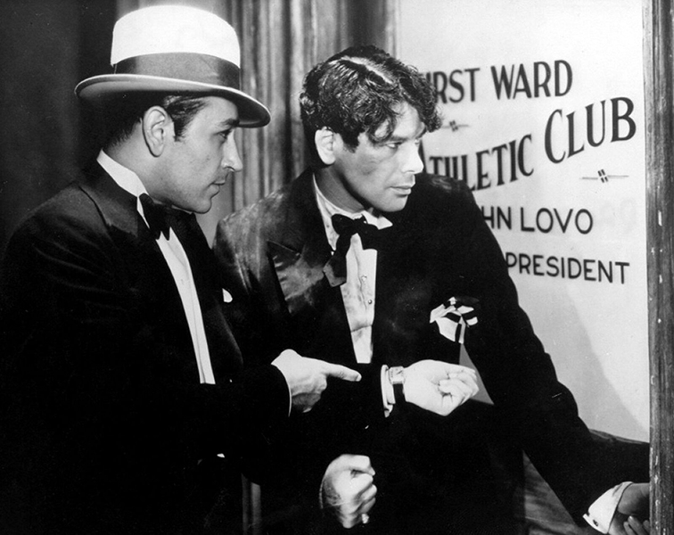 """That was the best picture where I got my best tip on acting. Paul Muni told me never to let anyone change my type. I never have."" -- George Raft (Bizarre Los Angeles)"