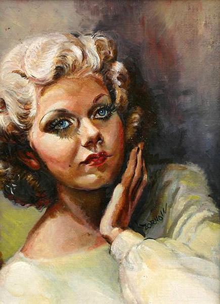 Jean Harlow portrait