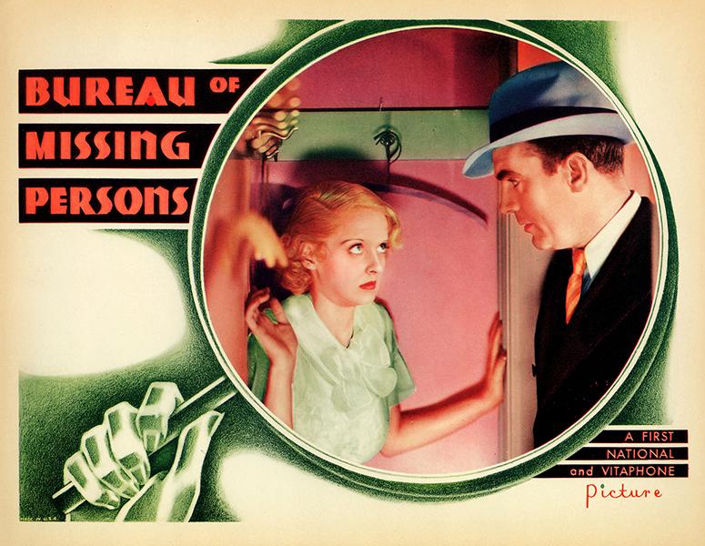 Bureau of Missing Persons Bette Davis
