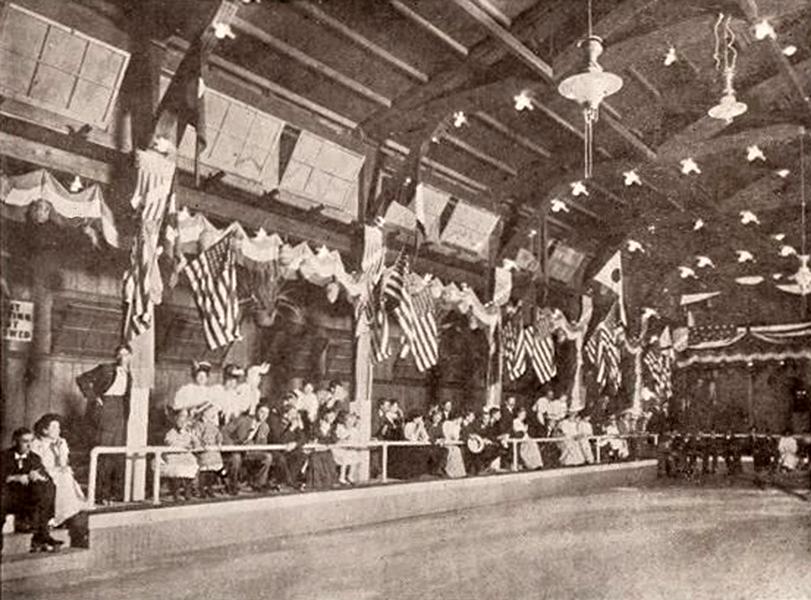 Dreamland Rollerskating rink 1906