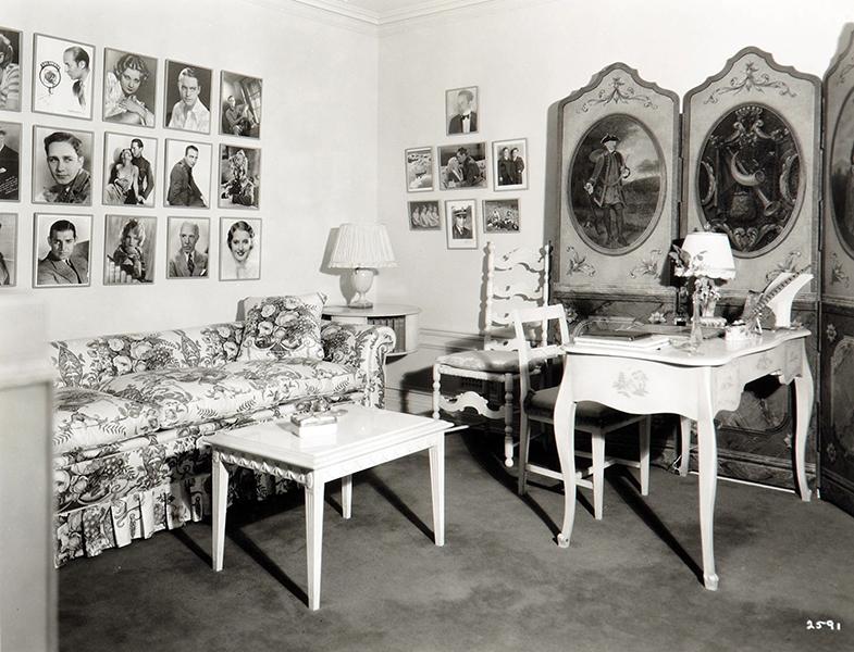 Jean Harlow dressing room