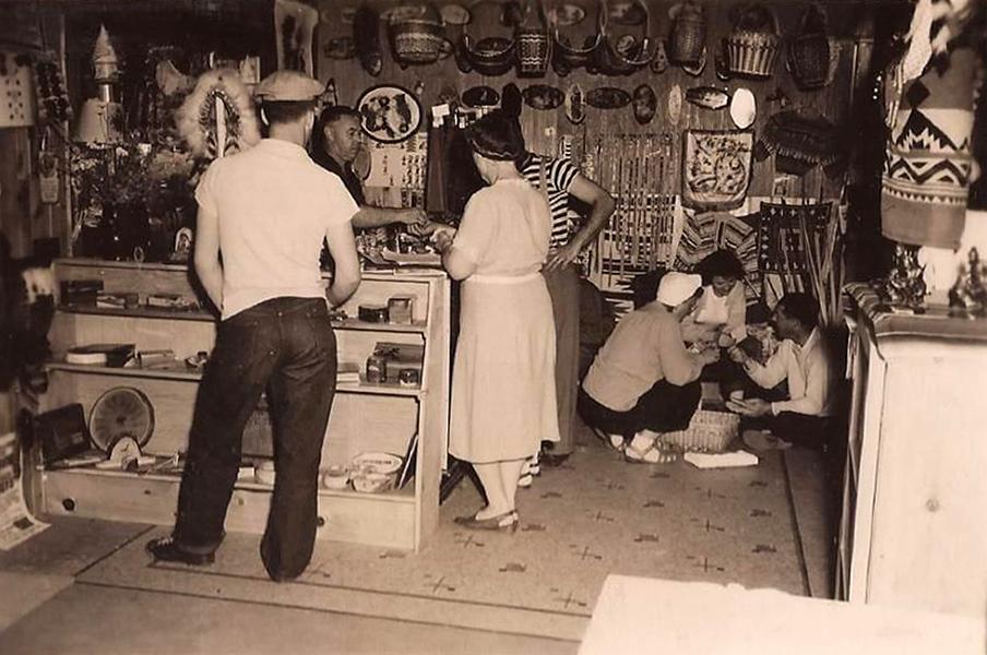 Interior Gift Store Olvera Street