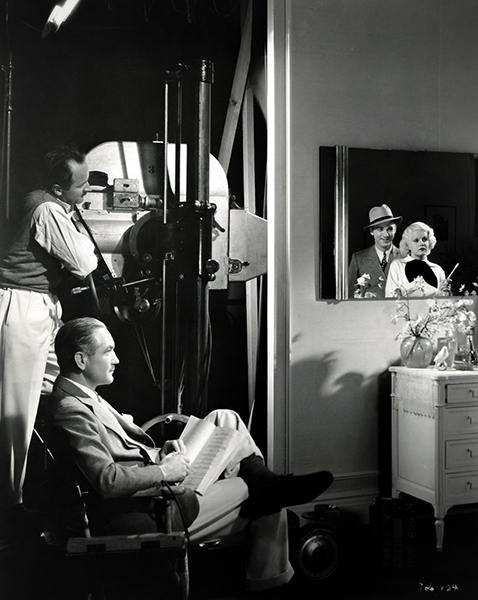 Lee Tracy Victor Fleming Jean Harlow Bombshell