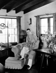 George Raft candid 1933