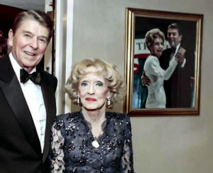 Ronald Reagan Bette Davis