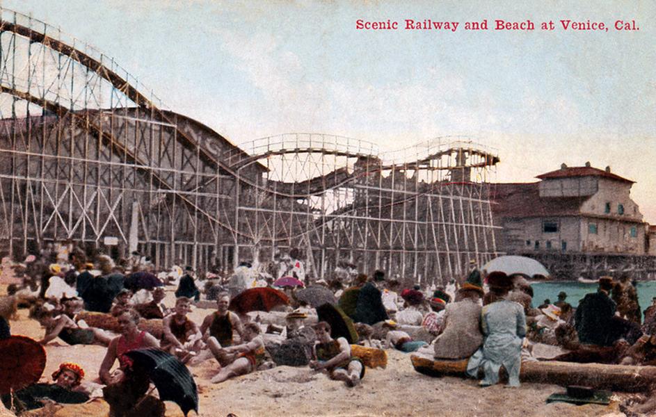 Venice Scenic Railway 1912