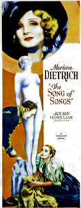The Song of Songs 1933 poster