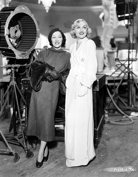 Gloria Swanson Carole Lombard