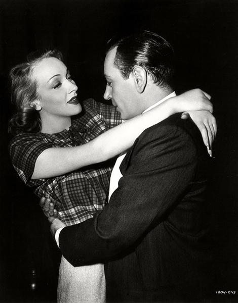 George Raft Marlene Dietrich