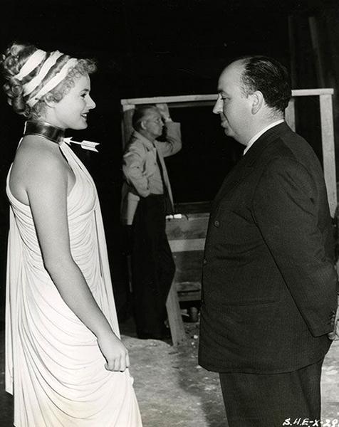 Ingrid Bergman Alfred Hitchcock