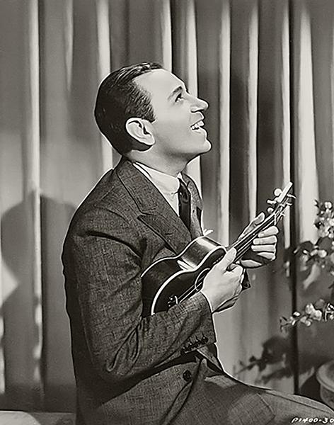 George Raft singing