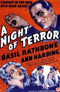 A Night of Terror 1937 Basil Rathbone Ann Harding