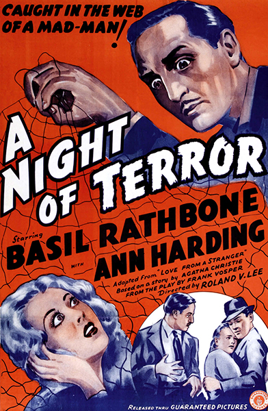 A Night of Terror 1937 Basil Rathbone Ann Harding