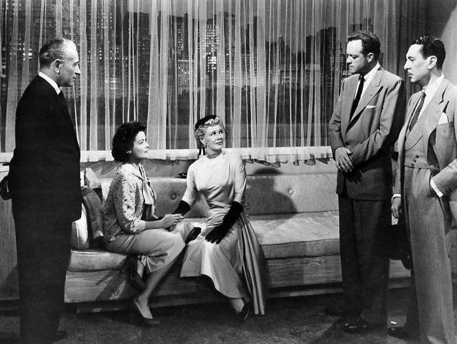 Black Widow - George Raft - Gene Tierney - Ginger Rogers - Van Heflin - Reginald Gardiner (Bizarre Los Angeles)