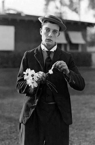 An early Buster Keaton portrait.