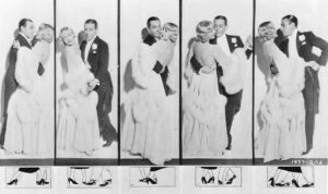 Dance lesson with George Raft and Carole Lombard. (Bizarre Los Angeles)