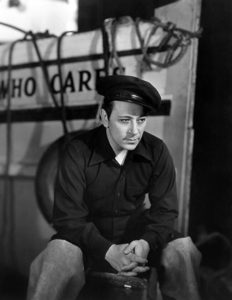 "George Raft in ""Spawn of the North"" (1938)"
