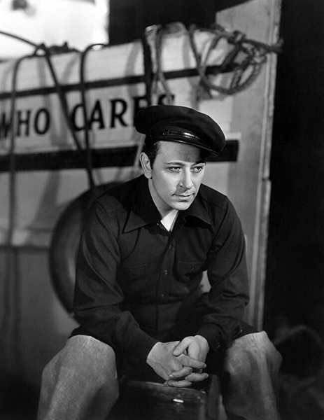 """George Raft in """"Spawn of the North"""" (1938)"""