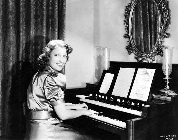 Jeanette MacDonald piano