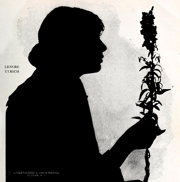 Lenore Ulric Silhouette 1916