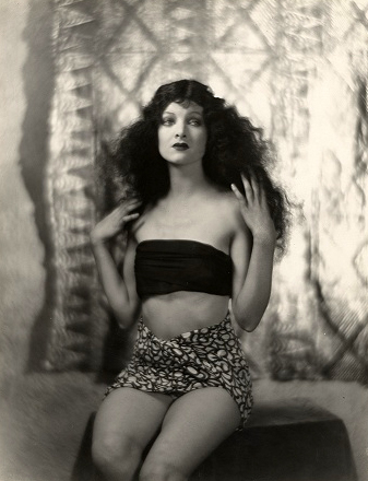 "Myrna Loy in ""Across the Pacific"" (1926). Bizarre Los Angeles"