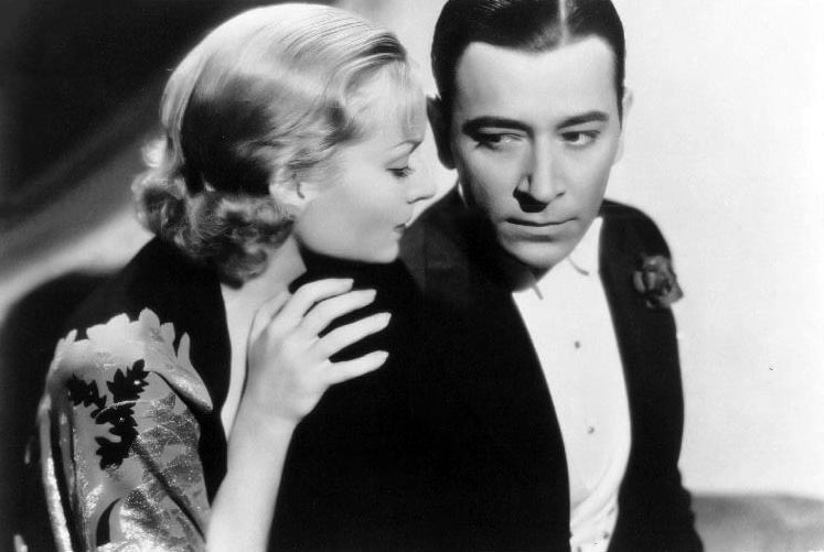 "Carole Lombard and George Raft in ""Rumba"" (1935). Bizarre Los Angeles"