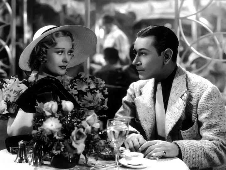 "Dolores Costello and George Raft in ""Yours for the Asking."" (Bizarre Los Angeles"