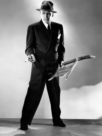 George Raft in Nocturne (1946). Bizarre Los Angeles